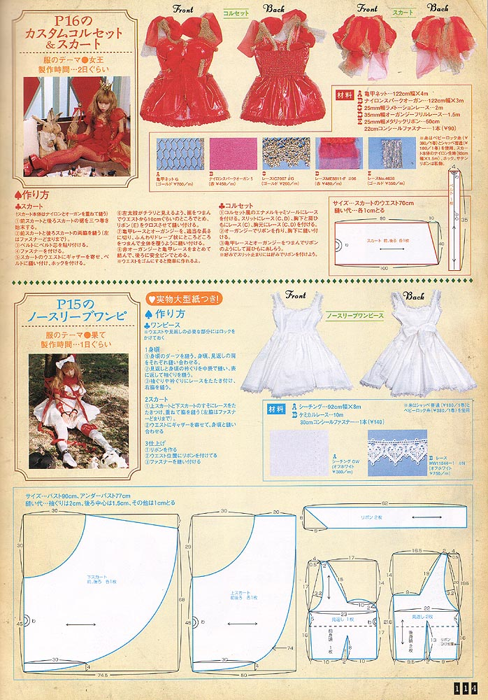 Attractive Lolita Dress Sewing Pattern Gallery - Blanket Knitting ...