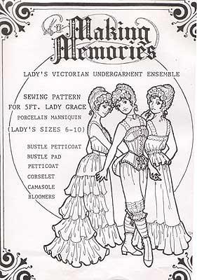 Making Memories Victorian Undergarments